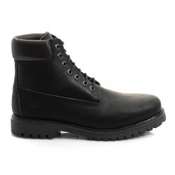 Sea and City C10 WORKING BOOT BLACK LEATHER