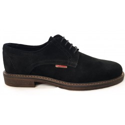 Desert Shoe Black Suede