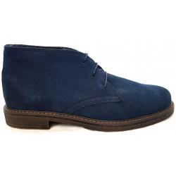 Desert Boot Blue Suede