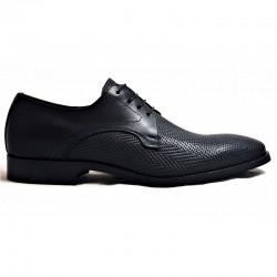 VS Handmade Shoes 002 Herringbone Black