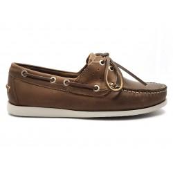 Canguro Boat Shoe M042-100 Nabuk Cerato Cuoio