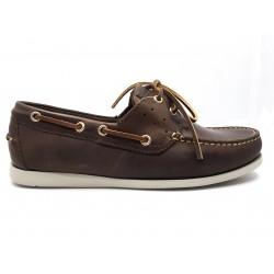 Canguro Boat Shoe M042-100 Nabuk Cerato Testa Moro