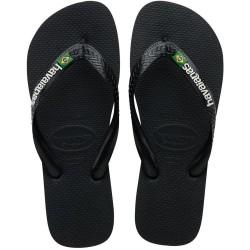 Havaianas Brasil Logo 4110850 1069 Black/Black