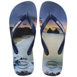 Havaianas Brasil Hype 4127920 4368 Navy Blue