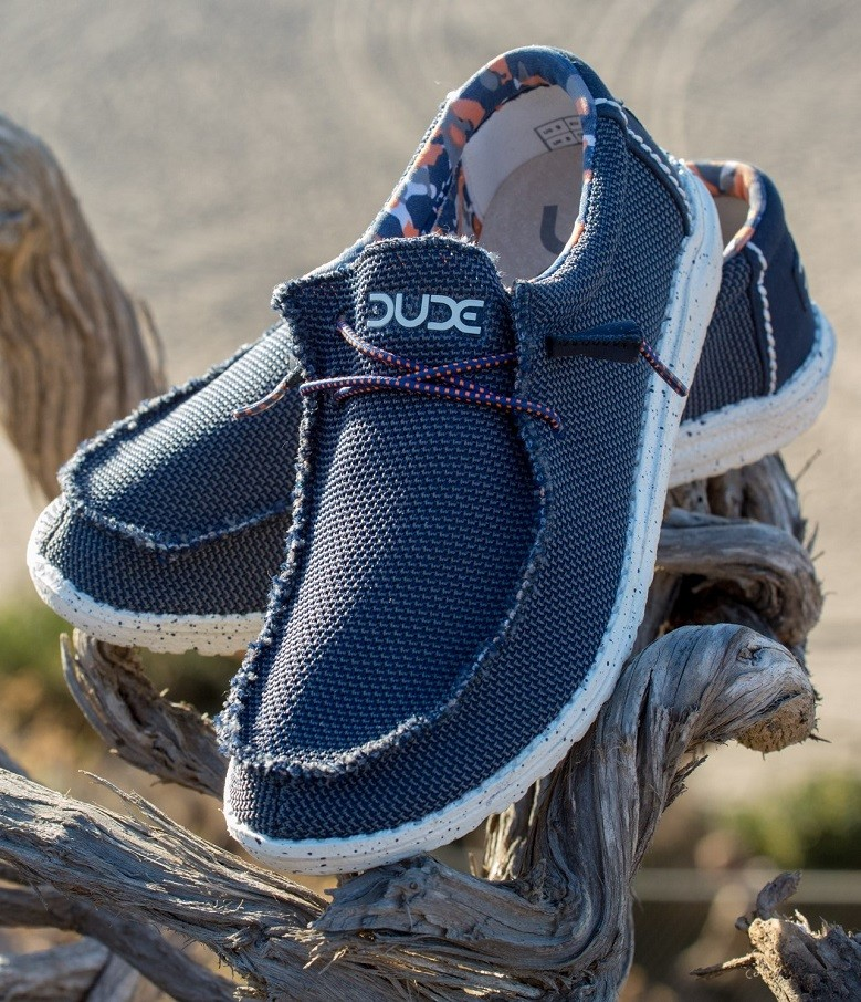 Hey Dude Shoes Men's Thad Sox Shoes in Sharkskin